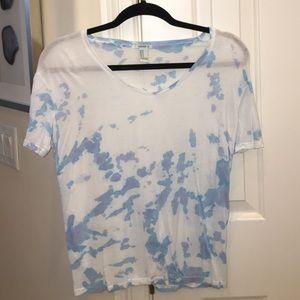 Ladies dyed tshirt